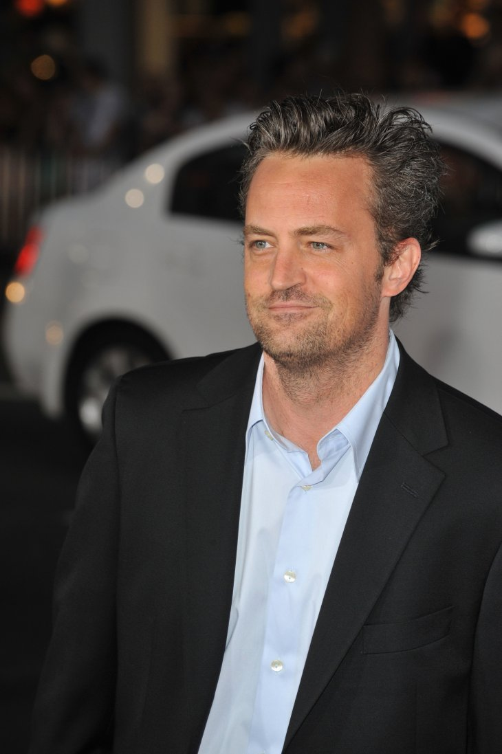 """Matthew Perry have released """"Friends"""" merch for WHO relief.   Photo: Shutterstock"""