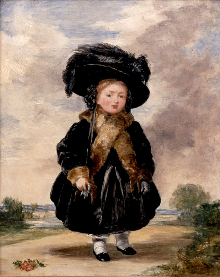 Denning, Stephen Poyntz (c. 1787 - 1864) – ArtistDetails of artist on Google Art Project,Denning, Stephen Poyntz - Princess Victoria aged Four - Google Art Project, marked as public domain, more details onWikimedia Commons