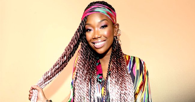 Brandy's Only Daughter Sy'rai Is a Carbon Copy of Her Mom Showing Her Tongue & Braids in a Pic
