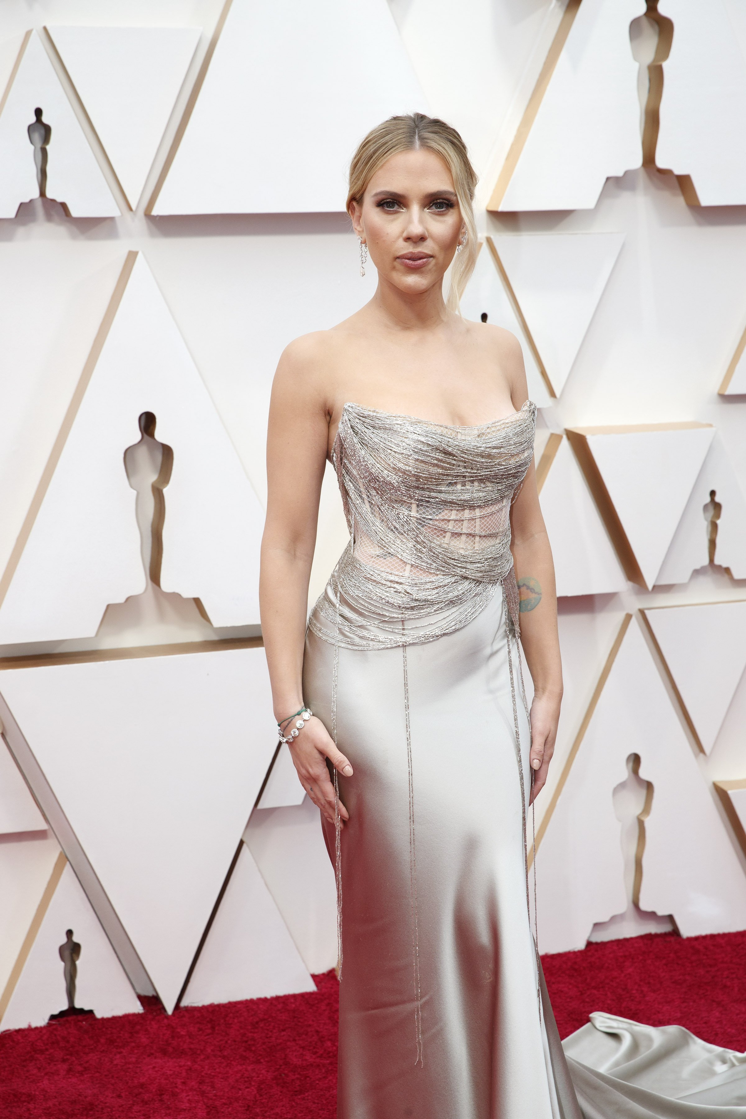 Scarlett Johansson aux Oscars le 09 février 2020 à Hollywood | Photo: Getty Images