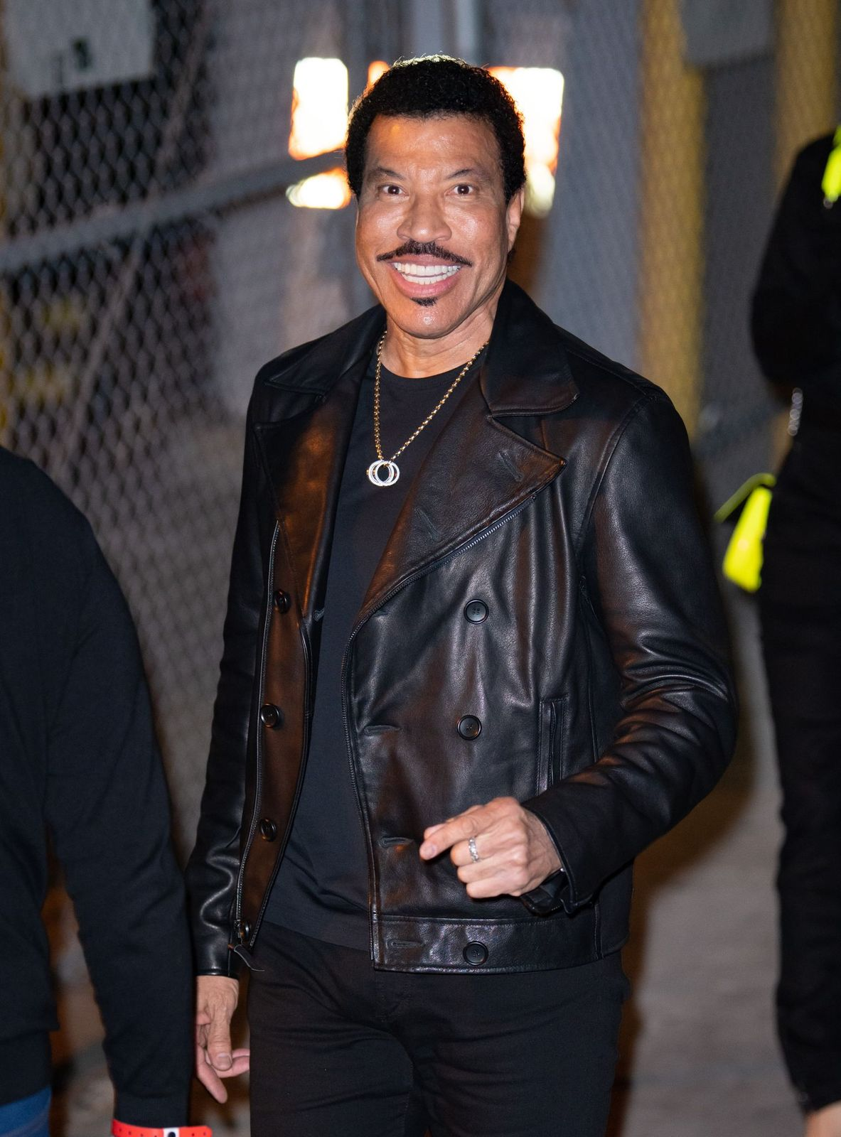 """Lionel Richieat """"Jimmy Kimmel Live""""on February 12, 2020, in Los Angeles, California 