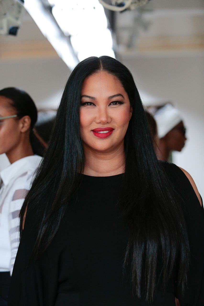Kimora Lee Simmons poses during her Presentation for September 2016 Spring 2017 during New York Fashion Week at The Gallery, Skylight at Clarkson Sq on September 14, 2016 in New York City. | Source: Getty Images