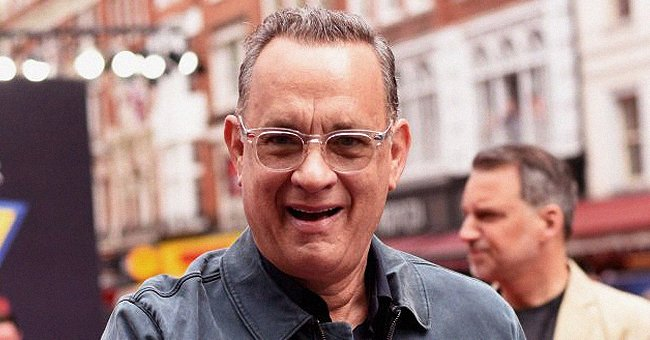 Tom Hanks' Granddaughter Michaiah Is All Smiles as She & Dad Chet Get Mischievous In a Video