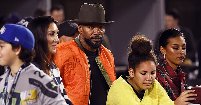 Jamie Foxx Is Spotted with Ex Kristin Grannis and Their Daughter Annalise at LA Rams Game after Katie Holmes Breakup