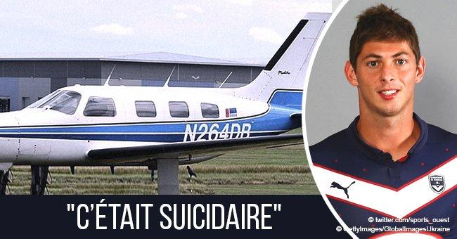 'C'était suicidaire' : le pilote d'Emiliano Sala ne s'est pas bien préparé pour son vol