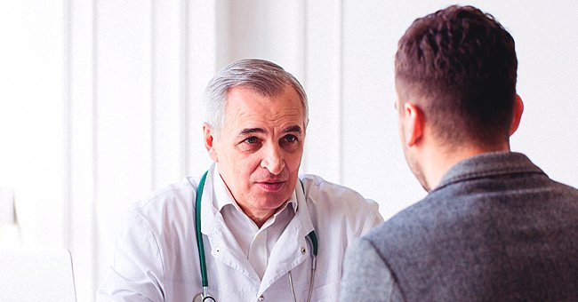 Daily Joke: Doctor Has Sad Look on His Face after Getting Results of His Patient's Yearly Physical Exam