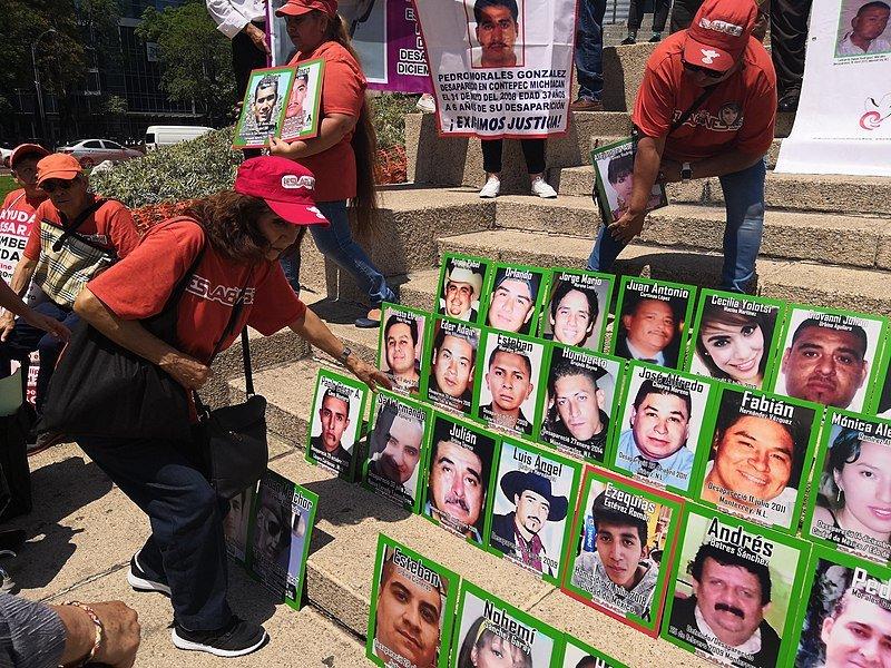 Cada año desaparecen en México cientos de personas. | Foto: Flickr