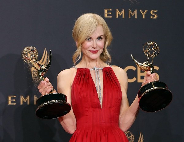 Nicole Kidman at the 69th Annual Primetime Emmy Awards at Microsoft Theater on September 17, 2017 in Los Angeles, California | Source: Getty Images/Global Images Ukraine