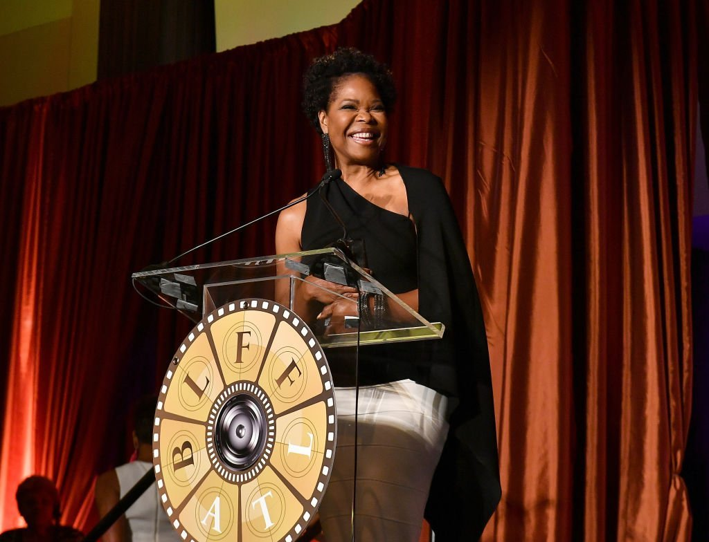 Actress Angela Robinson speaks onstage during the 10th Annual BronzeLens Film Festival Women Superstars Luncheon | Photo: Getty Images