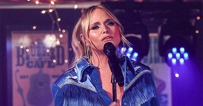 Miranda Lambert Performs at the ACM Awards Looking like a Country Queen in a Denim Fringe Shirt