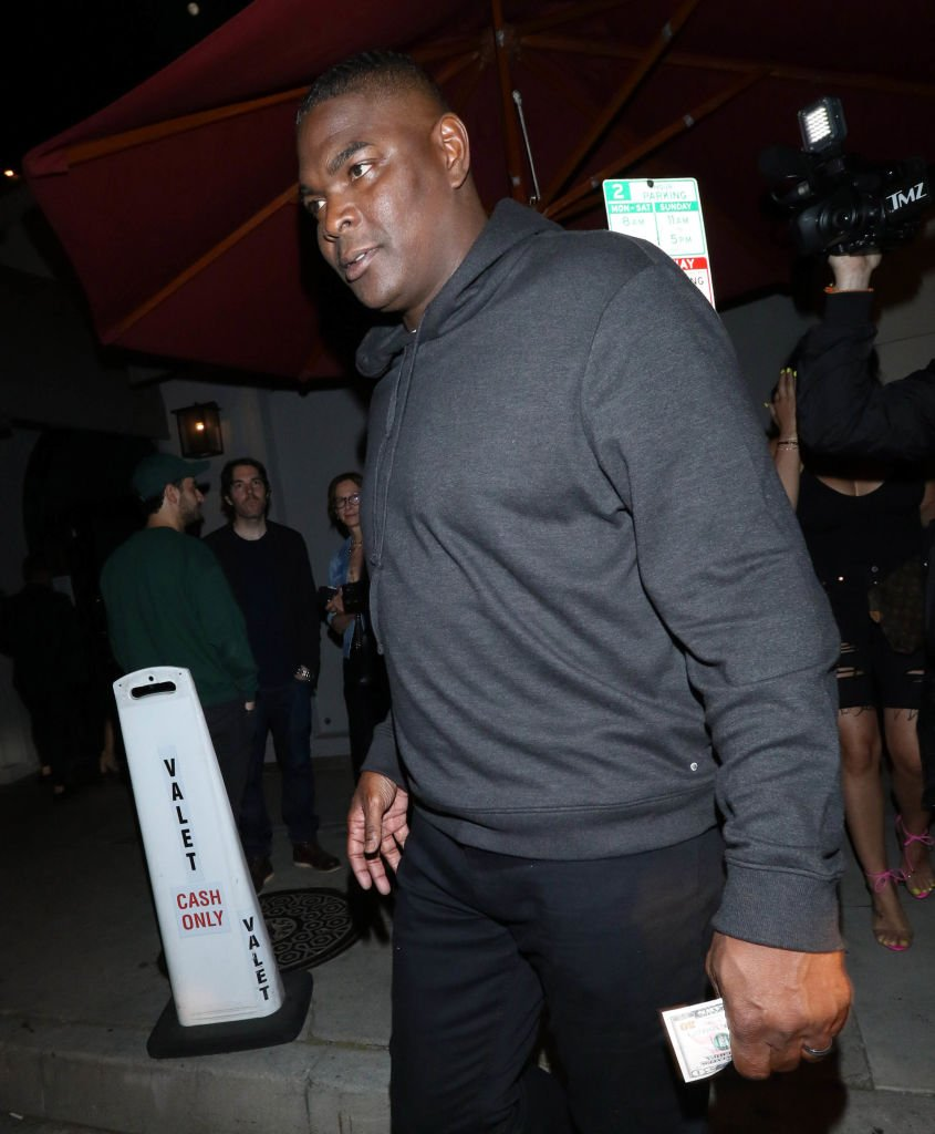 Keyshawn Johnson is seen on June 14, 2019 | Photo: Getty Images