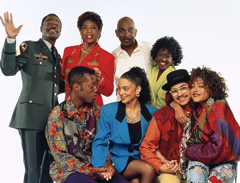 """The cast of """"A Different World."""" 