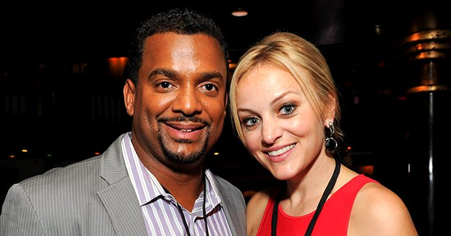 Alfonso Ribeiro's Wife Angela Shares Pic of Sons Anders and Alfonso Jr by the Beach during Sunset