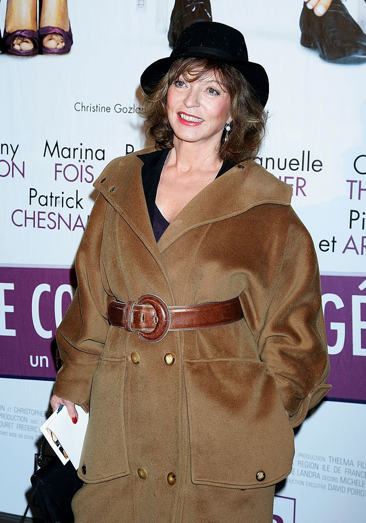 L'actrice Marie-France Pisier. | Photo : Getty Images