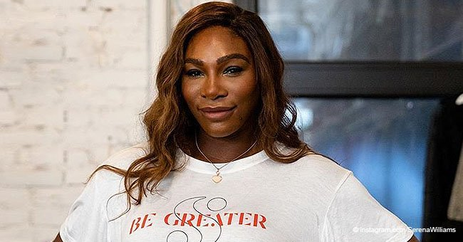 Serena Williams' Daughter Is Eating like a Boss & Shows off Her Adorable Afro Puffs in New Pic