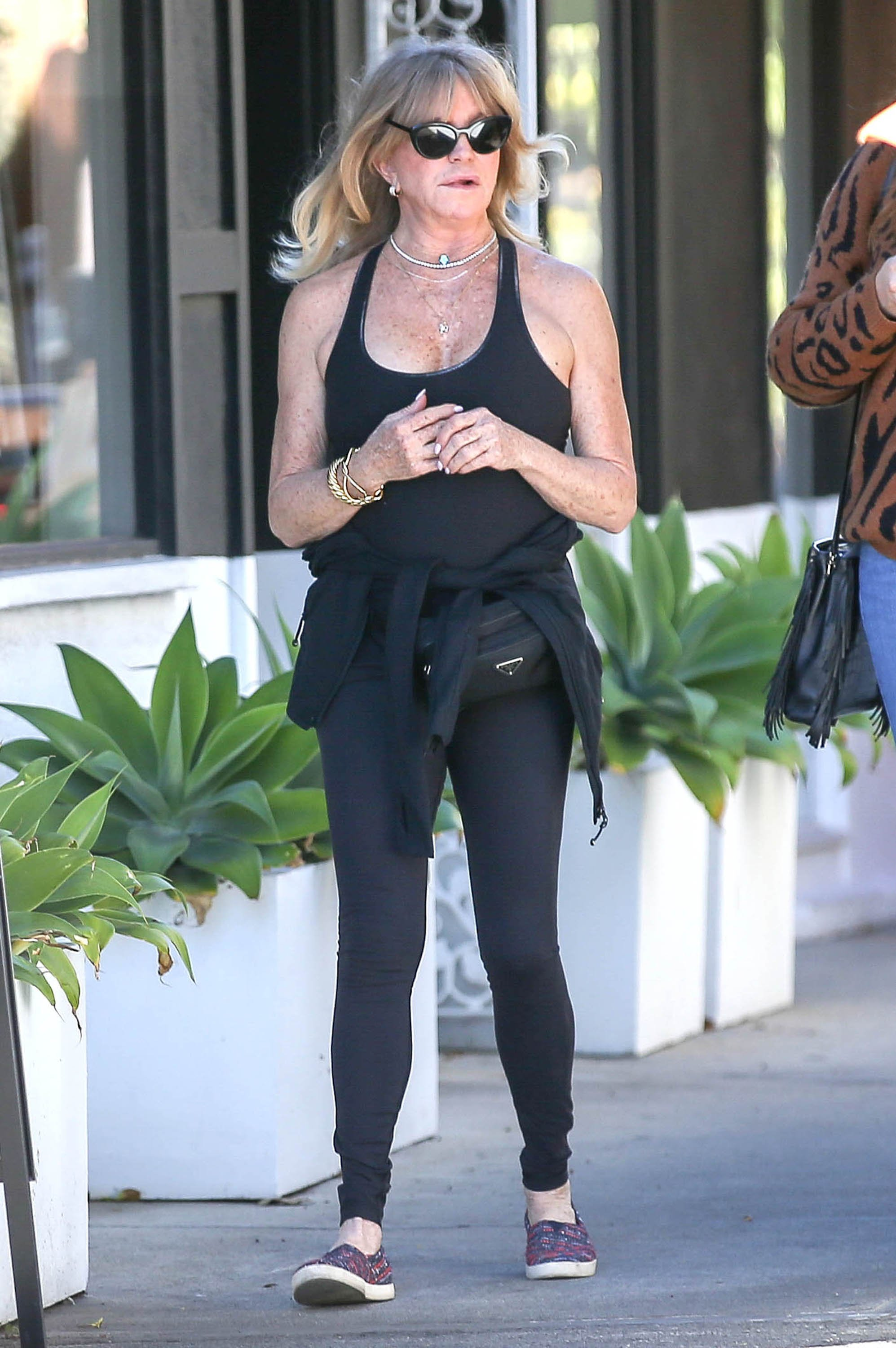 Goldie Hawn is seen on January 6, 2020 in Los Angeles, California.  Source: Getty Images