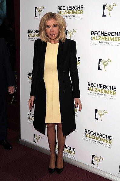 Brigitte Macron assiste au Gala de charité contre la maladie d'Alzheimer à l'Olympia | Photot : Getty Image