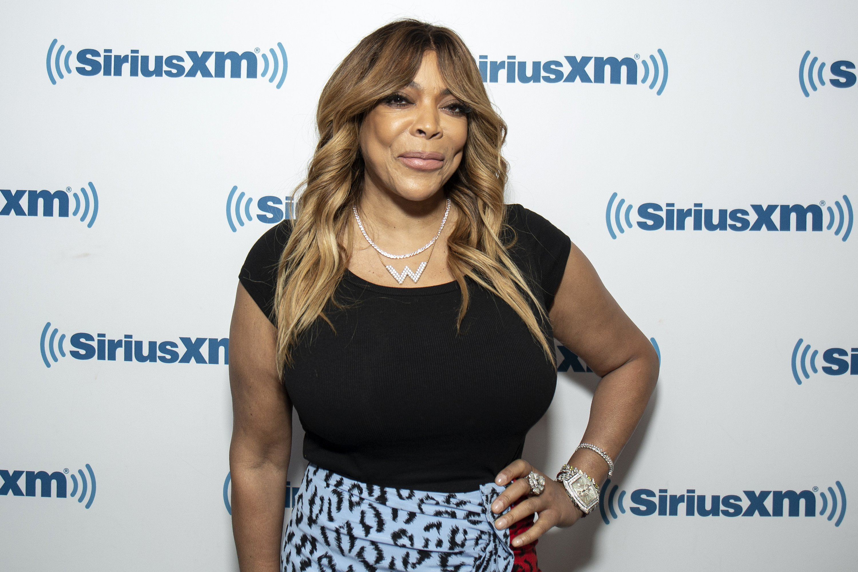 Wendy Williams visits SiriusXM Studios on August 06, 2019 in New York City. | Photo: GettyImages