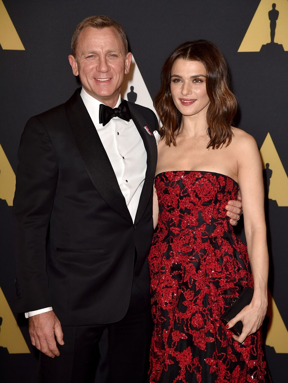 Daniel Craig and Rachel Weisz attend the Academy of Motion Picture Arts and Sciences' 7th annual Governors Awards. | Source: Getty Images
