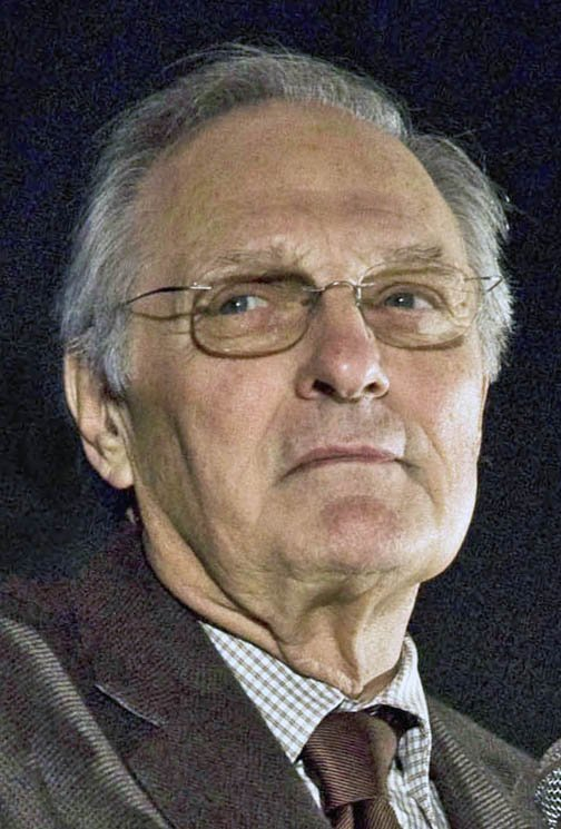 """Alan Alda during a Q & A session following a screening of the movie """"Nothing But the Truth"""" on December 14, 2008 