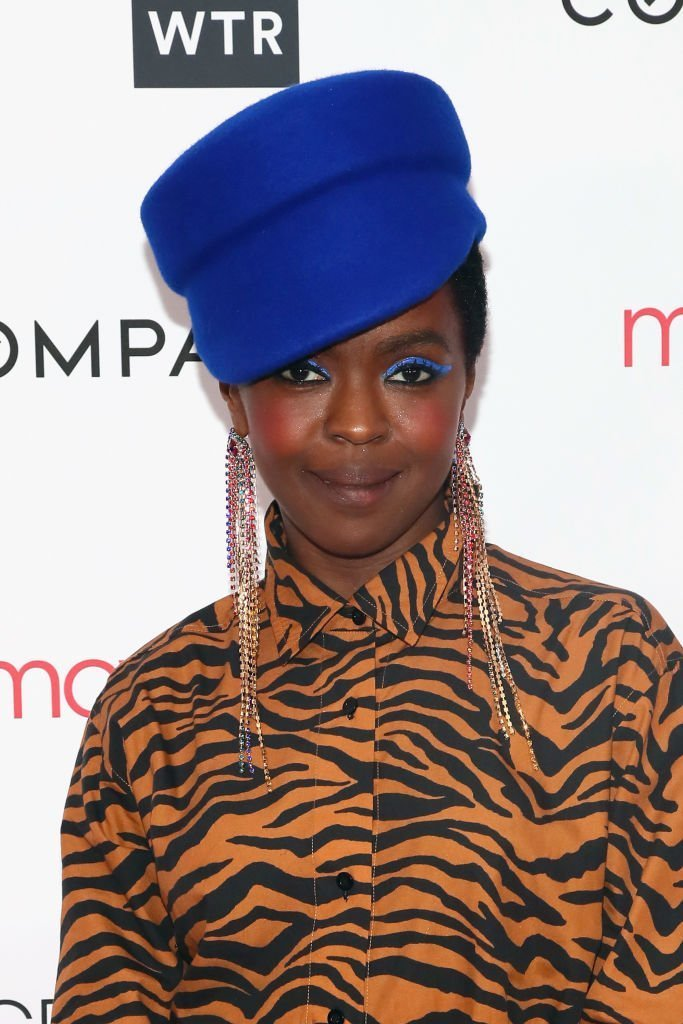 Lauryn Hill at the 2018 Greenwich International Film Festival. | Photo: Getty Images