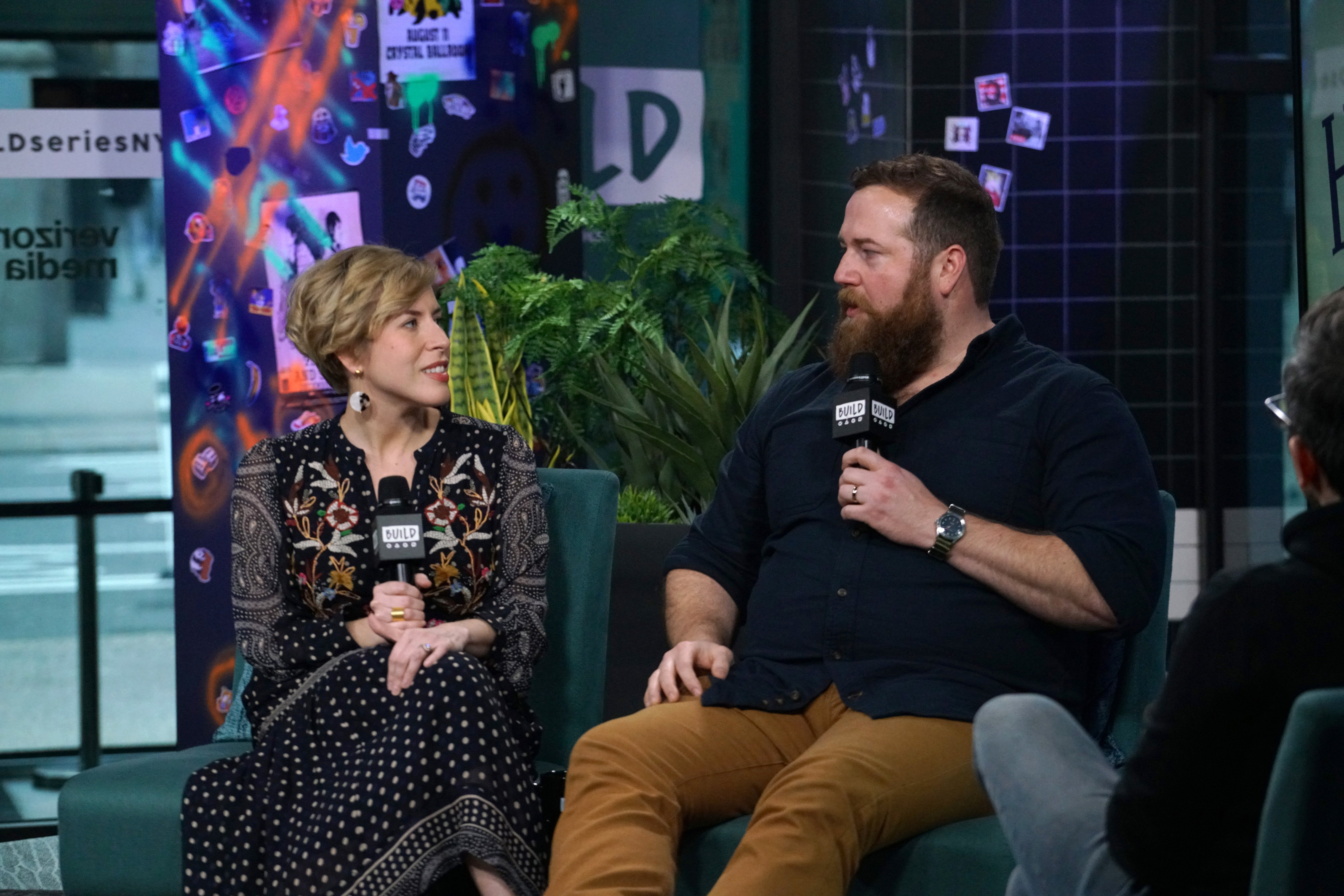 """Erin Napier and Ben Napier attend Build Series to discuss the new season of """"Home Town"""" at Build Studio on January 08, 2020 in New York City. 