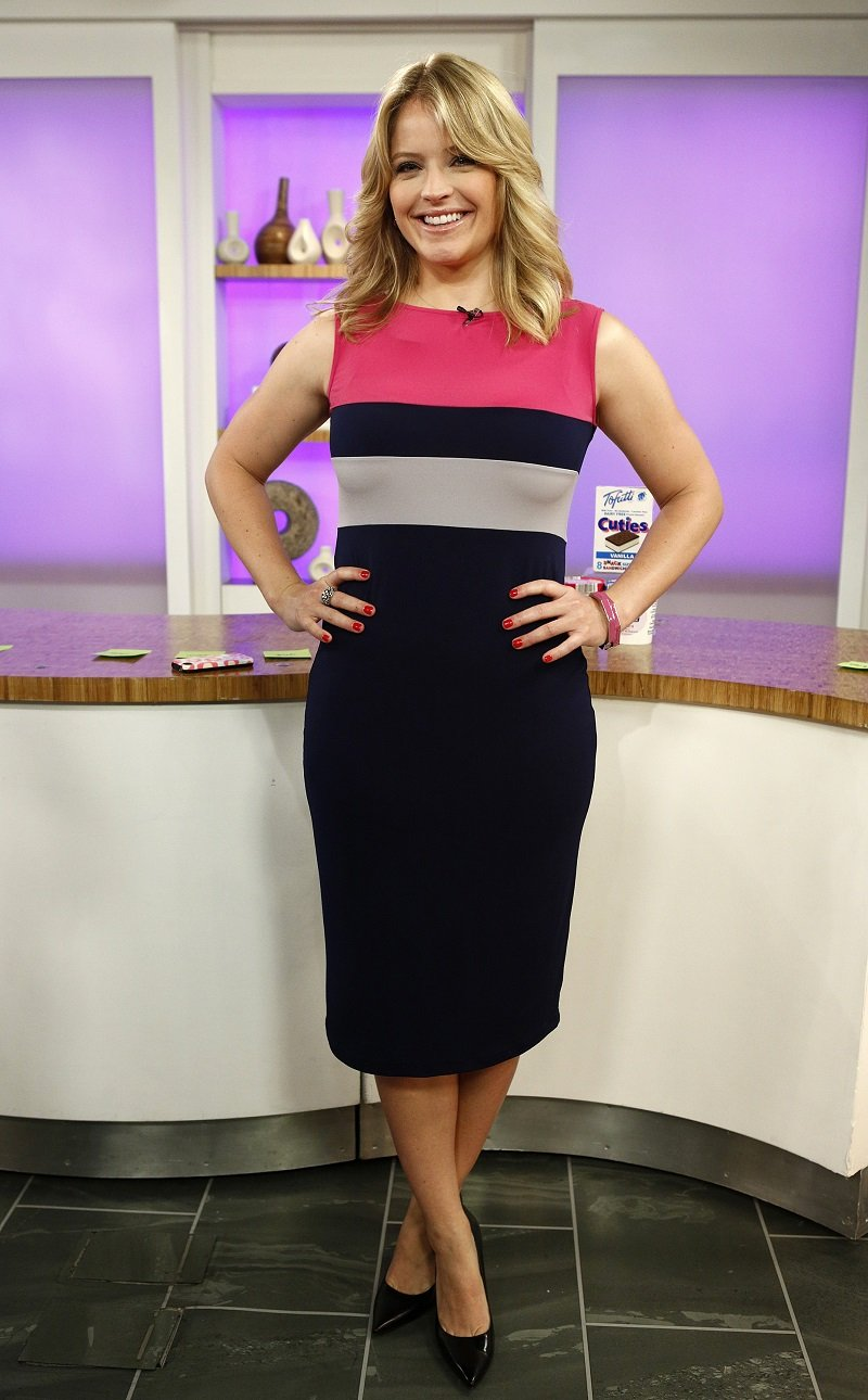 """Sara Haines on the """"Today"""" show on July 3, 2012   Photo: Getty Images"""