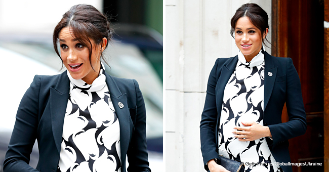 Meghan Markle to Debut Baby on Vogue Claim Shut down by Palace Spokesperson