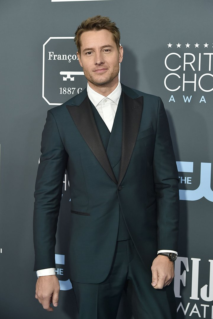Justin Hartley attending the 25th Annual Critics' Choice Awards at Barker Hangar in Santa Monica, California, in January 2020. I Image: Getty Images.