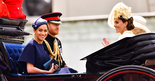 Meghan Markle & Kate Middleton Reportedly Showed a 'Real Moment of Continuity' at Trooping