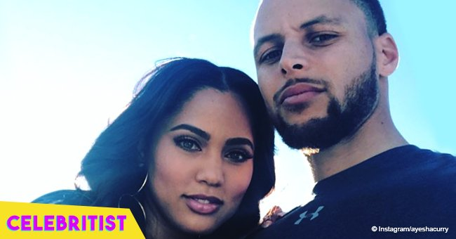 Ayesha and Steph Curry's little daughters steal hearts with matching blue outfits