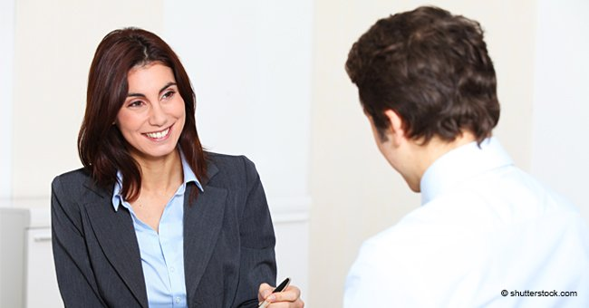 Woman Has a Job Interview