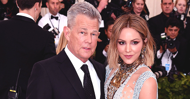 David Foster's Young Wife Katharine Mcphee Stuns in a Batik Dress in Pics from Indonesia Trip