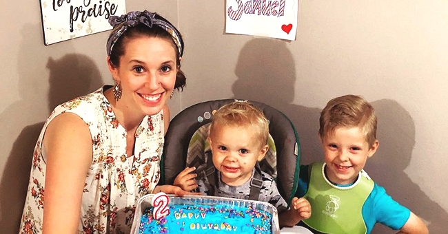 Jill Duggar's Fans Defend Her after She Was Mom-Shamed for Putting a Bib on Her 4-Year-Old Son Israel