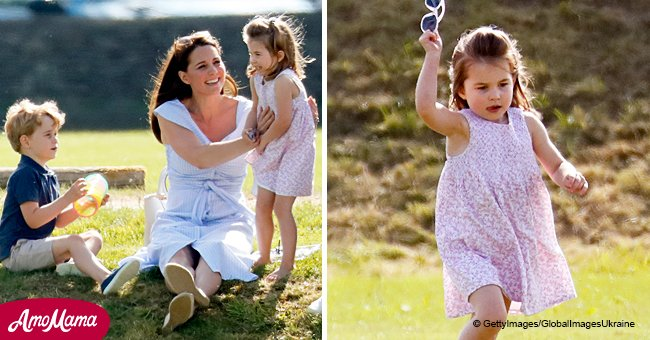 Here's why Princess Charlotte is always wearing dresses