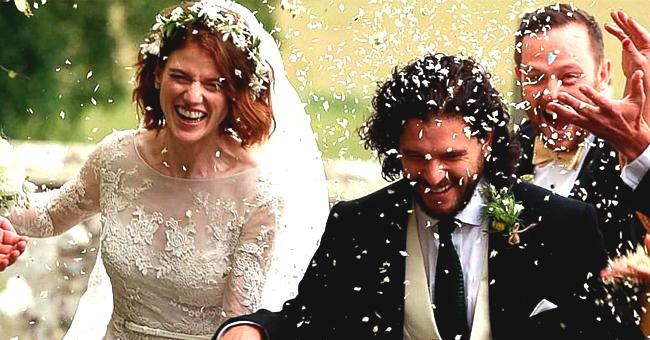 """La vraie histoire d'amour de Kit Harington et Rose Leslie, co-star dans """"Game of Thrones"""""""