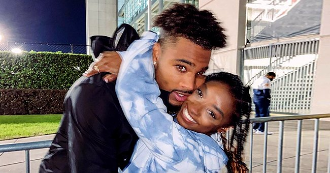 Simone Biles Hugs NFL's Jonathan Owens in Sweet Snap — See Why Fans Say They Are a Cute Couple