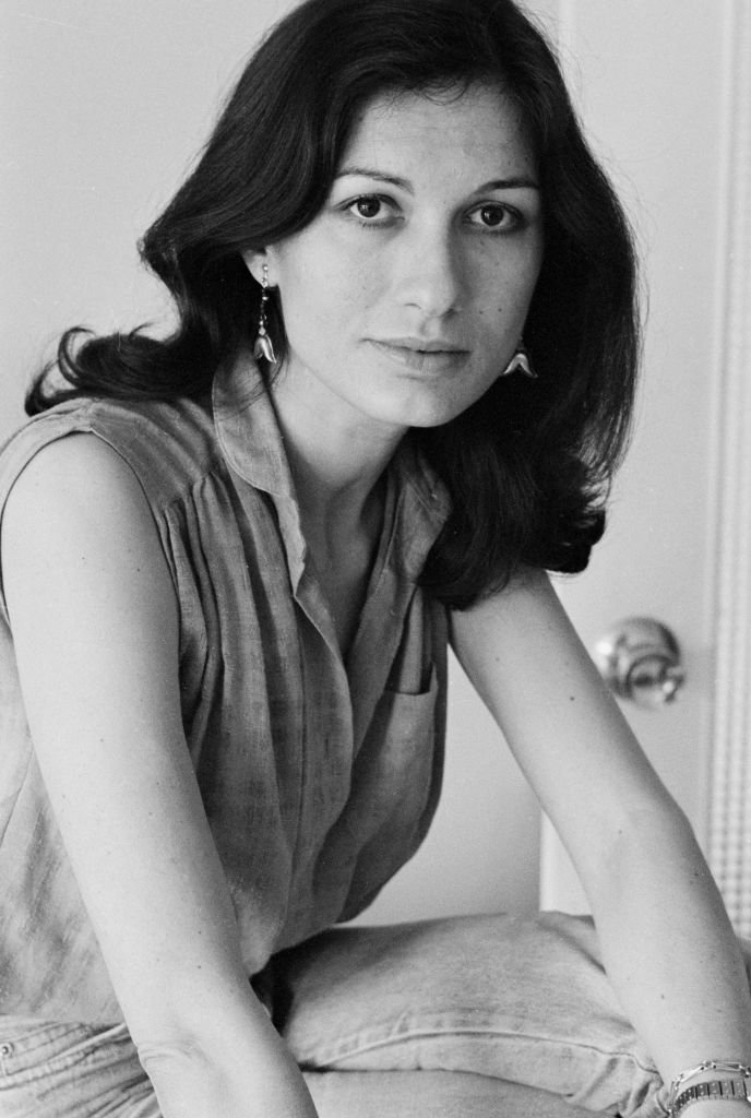 L'actrice française Ludmila Mikaël à Paris en 1982, France. | Photo : Getty Images.