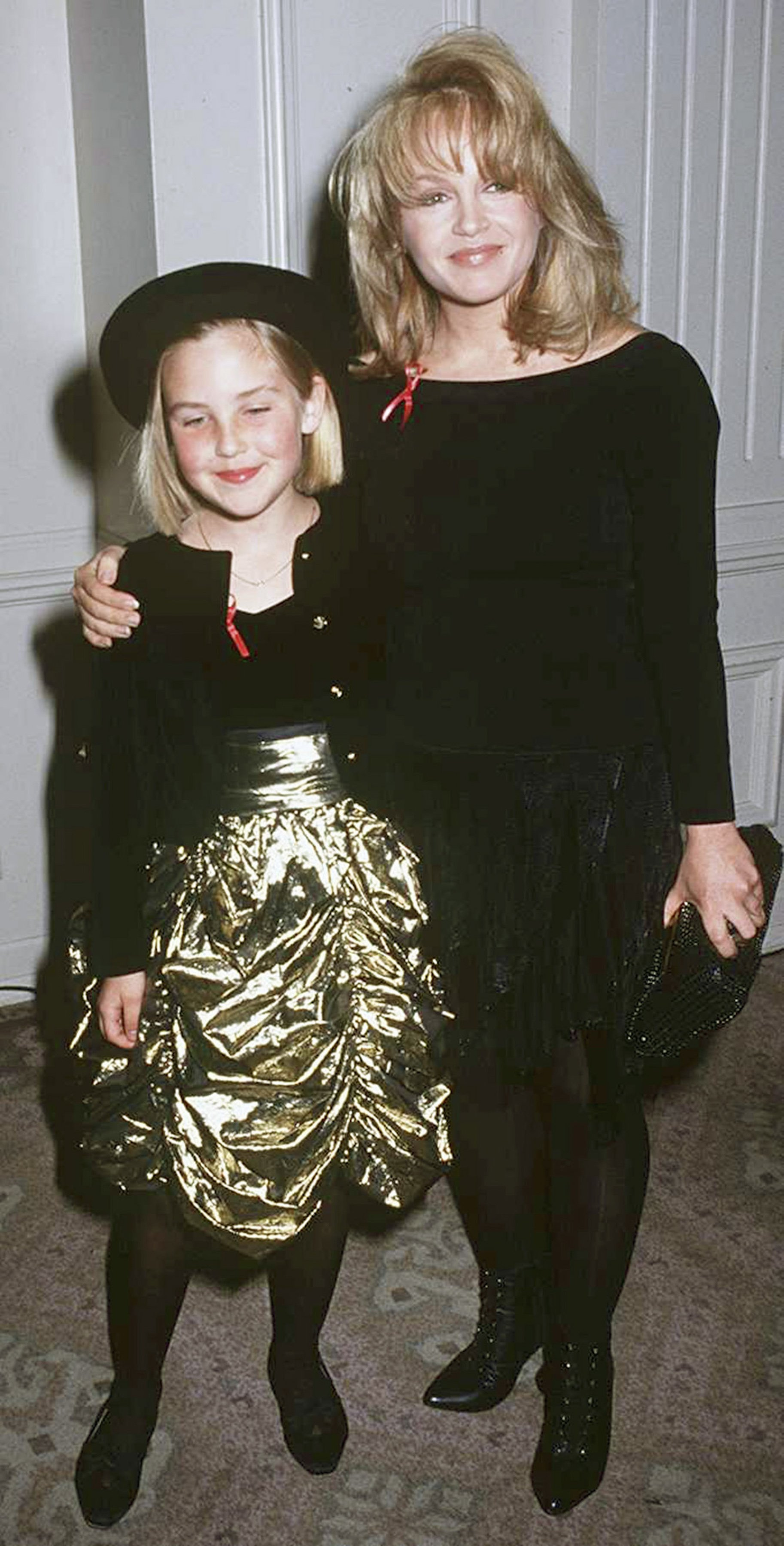 Charlene Tilton and daughter Cherish Lee attend the 22nd Annual Nosotros Golden Eagle Awards in Beverly Hills on June 5, 1992 | Photo: Getty Images