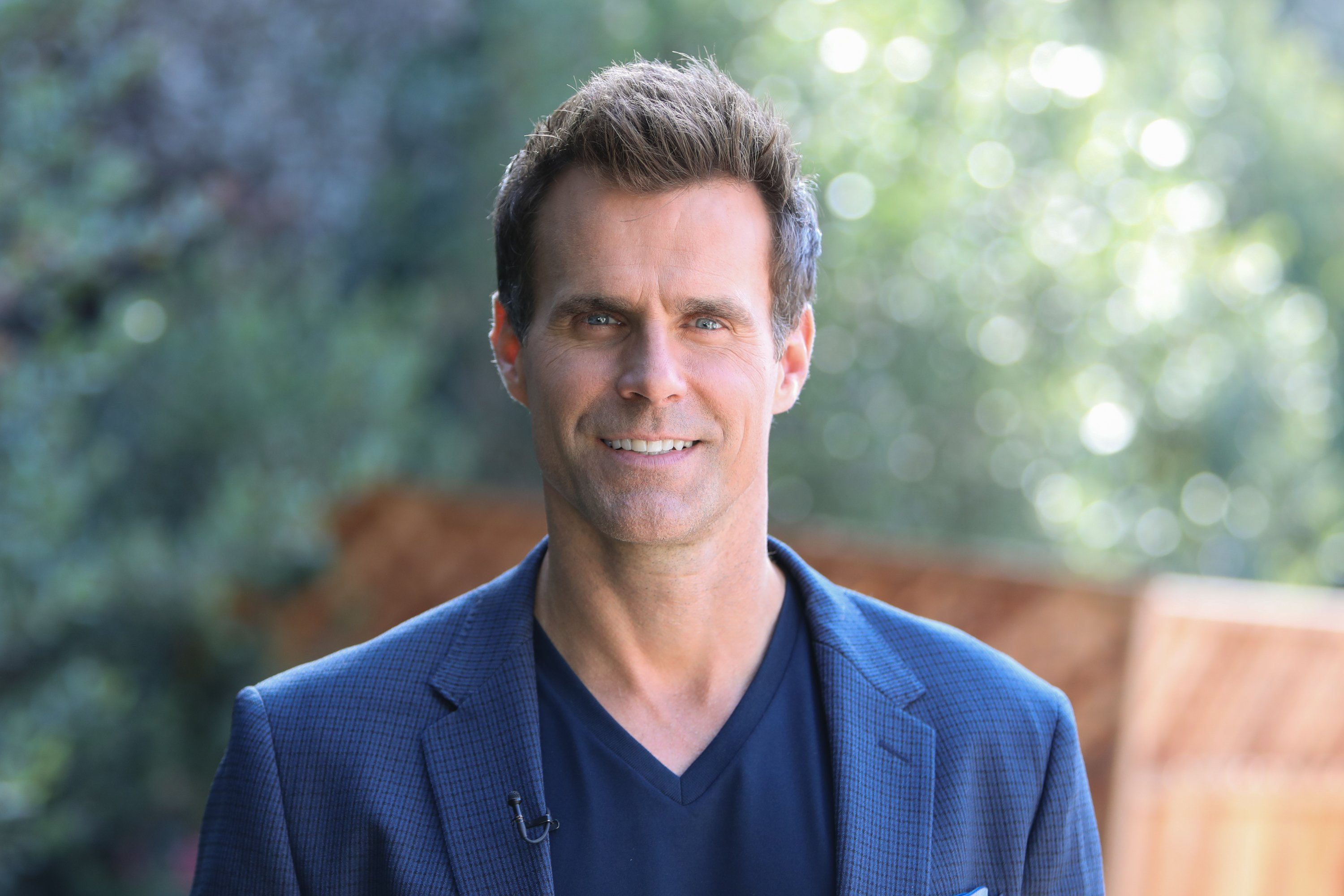 "Cameron Mathison on the set of Hallmark's ""Home & Family"" at Universal Studios Hollywood on October 30, 2018.  