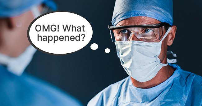A shocked surgeon asking for an explanation | Source: Shutterstock