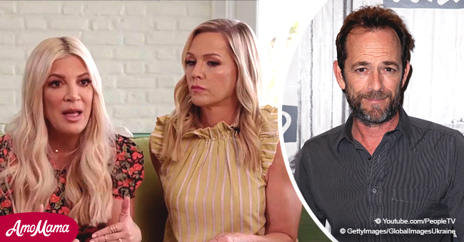 Tori Spelling, Jennie Garth Say Luke Perry Was so Supportive of 'Beverly Hills, 90210' Reboot