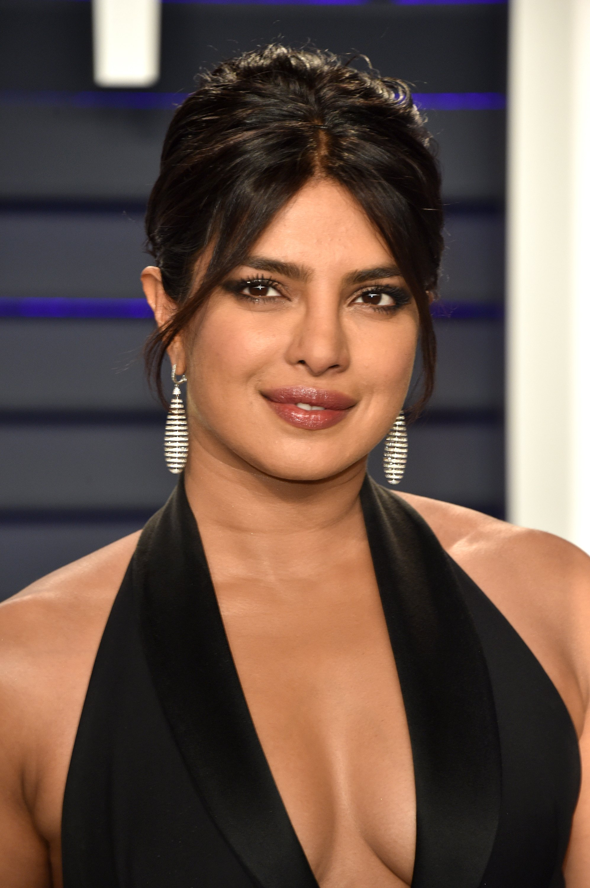 Priyanka Chopra attends the Vanity Fair Oscar Party in Beverly Hills, California on February 24, 2019 | Photo: Getty Images