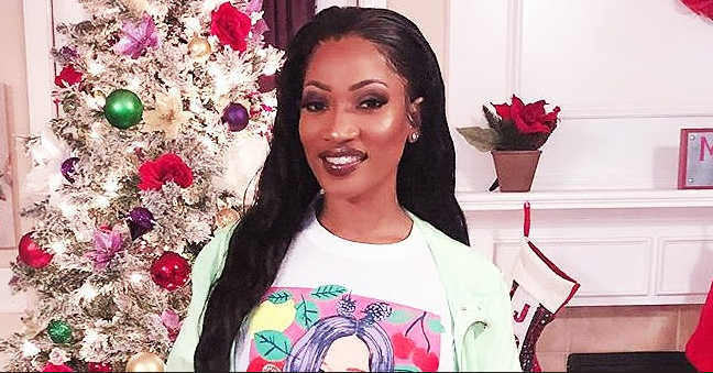 Erica Dixon from LHHATL Shares Sweet Family Photo with Her 3 Daughters in Matching Pajamas