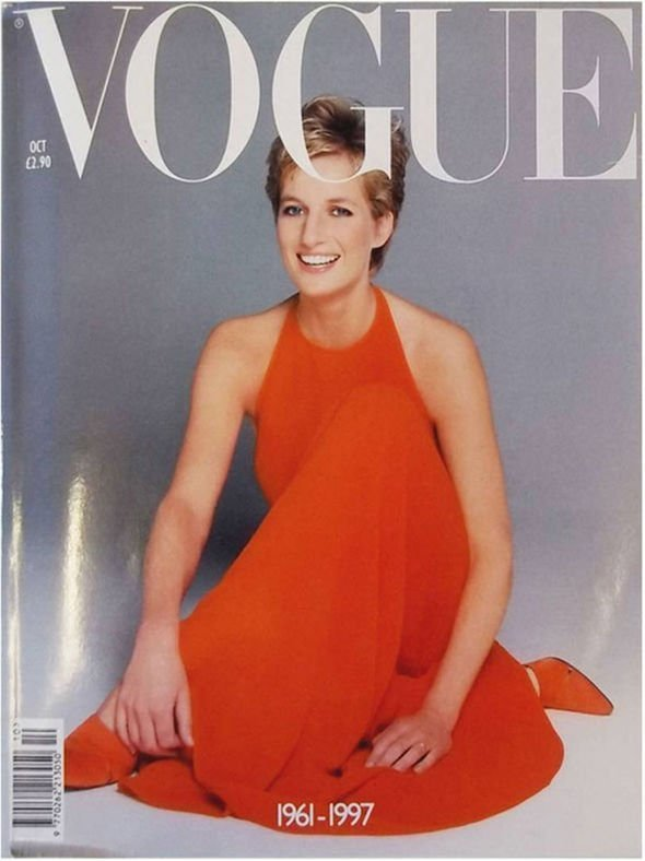 Princess Diana's iconic Vogue cover. | Photo: Vogue