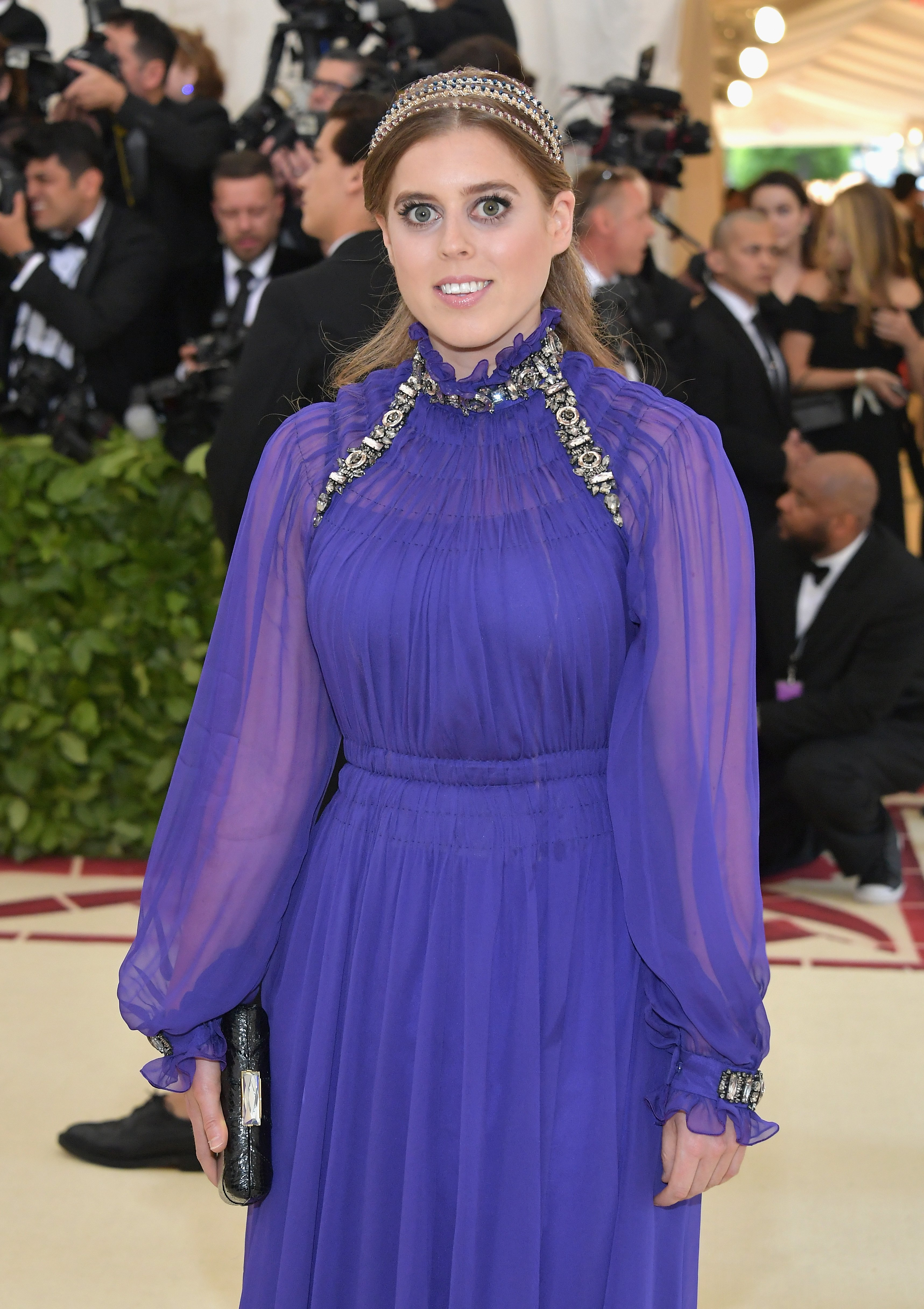 Princess Beatrice of York attends the Heavenly Bodies: Fashion & The Catholic Imagination Costume Institute Gala at The Metropolitan Museum of Art on May 7, 2018 in New York City. | Source: Getty Images