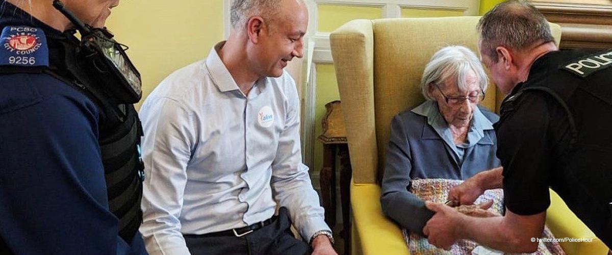 104 Jahre alte Rentnerin zum ersten Mal in ihrem ganzen Leben verhaftet
