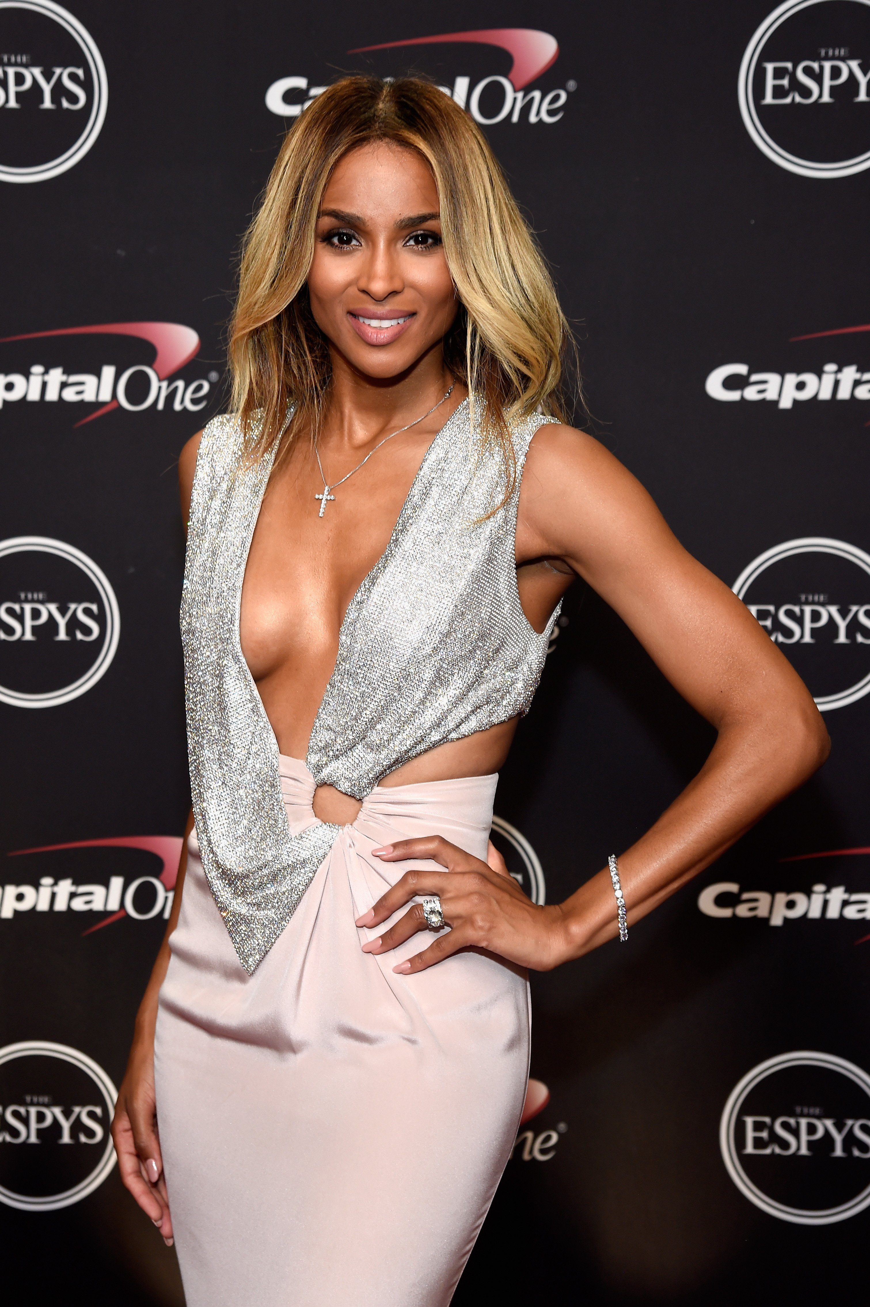 Ciara at the 2016 ESPYS at Microsoft Theater in Los Angeles, California | Source: Getty Images