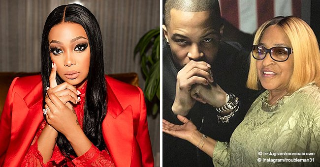 Monica dedicates song to T.I.'s sister who's in critical condition after car crash