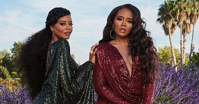 Rev Run's Daughters Angela & Vanessa Look Stunning in Sequin Dresses — See Their Similarity